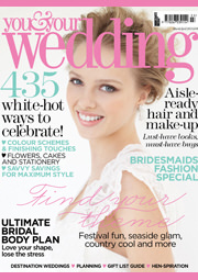 You and Your Wedding Magazine Cover March April 2013