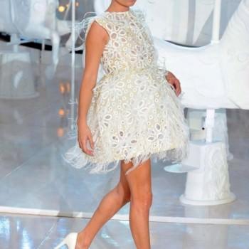 Kate Moss for Louis Vuitton wedding dress idea