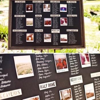 wedding table plan creative ideas