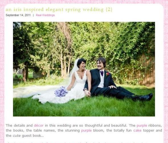 Real Wedding Featured Whimsical Wonderland Weddings