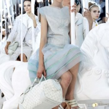 louis vuitton carousel catwalk wedding idea