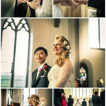 London wedding ceremony ring exchange