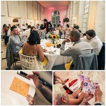 wedding reception at The Orangery Kew Gardens