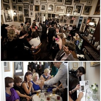 London wedding Trafalger Tavern wedding reception party (7)