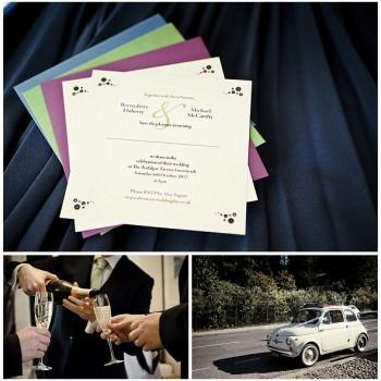 Wedding invitations Greenwich wedding London