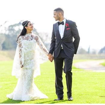 bride and groom at Northbrook Park wedding venue