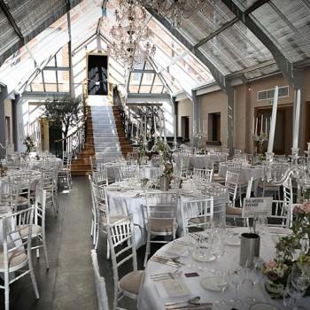 wedding recption at Botleys Mansion