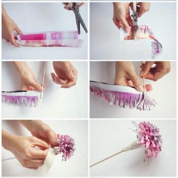 DIY paper flower tutorial www.alwaysandri.co.uk