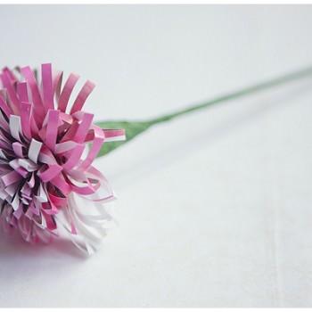 DIY paper flower by wedding planner Always Andri