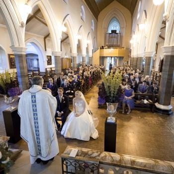 Catholic wedding ceremony in London