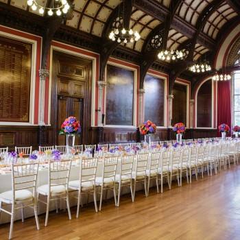 Dulwich College Great Hall wedding reception