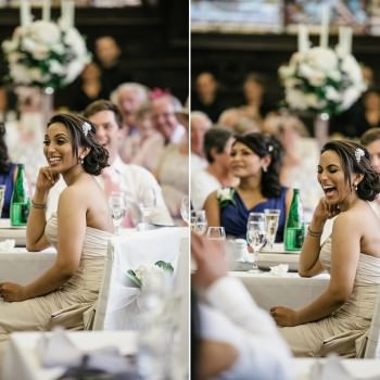 happy bride at Stationers Hall Wedding