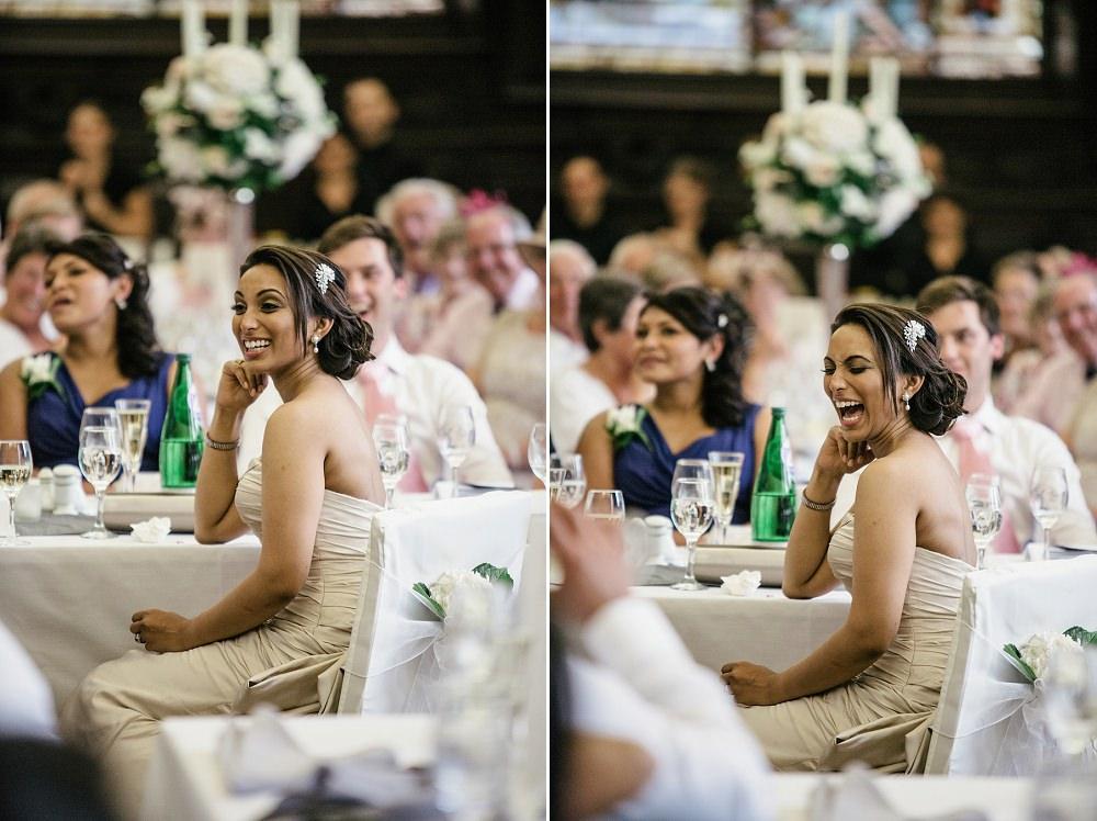 happy bride at Stationers Hall Wedding