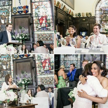 wedding speeches at Stationers Hall London