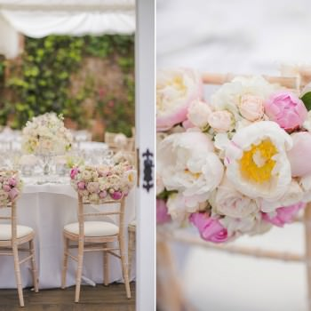 peonies and roses chair backs