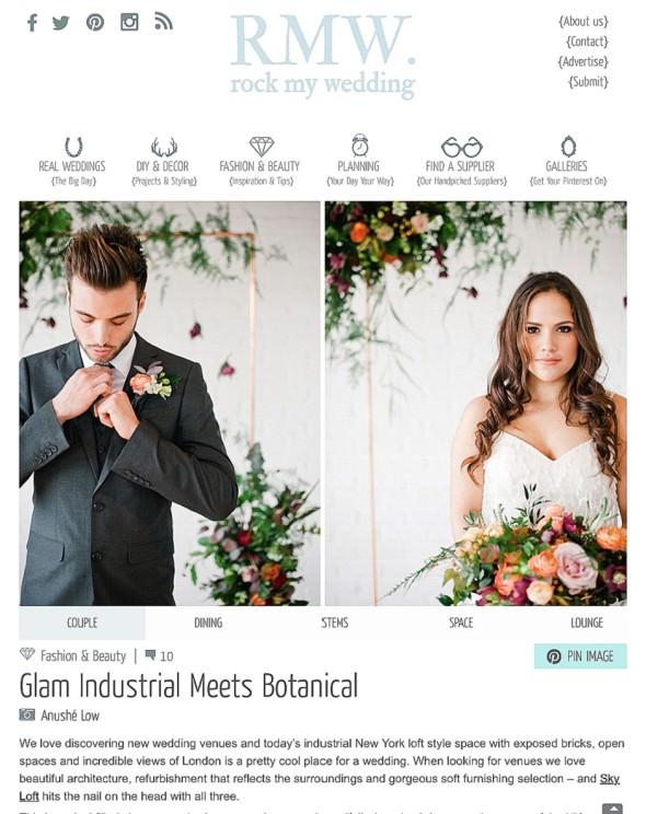 Rock My Wedding Styled shoot feature Always Andri Wedding Design