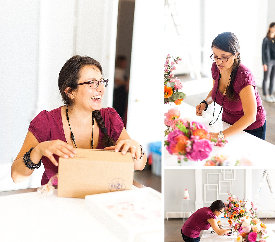 Behind the scenes at photoshoot for You and Your Wedding Magazine Always Andri WEdding Design Anushe Low Photography