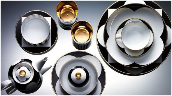 Bluie Ribbon luxury gift list tableware