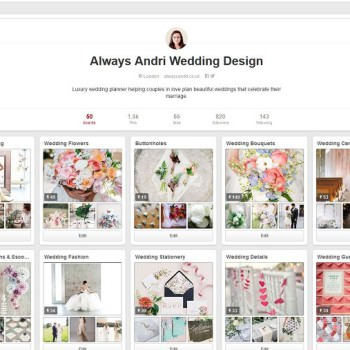 Always Andri Wedding Design on Pinterest