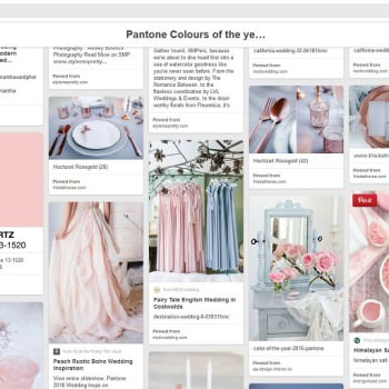 Always Andri Wedding Design on Pinterest Pantone Colour of the year board Serenity Blue and Rose Quartz