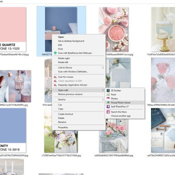 Always Andri Wedding Design how to create a mood board using google picasa