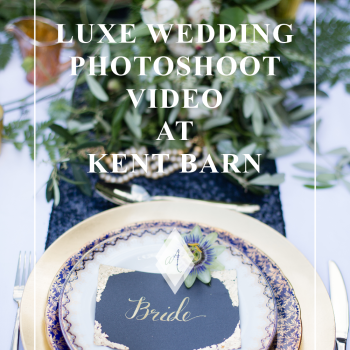 Luxe wedding photoshoot video at Kent barn Always Andri photo nu Julia and You Photography