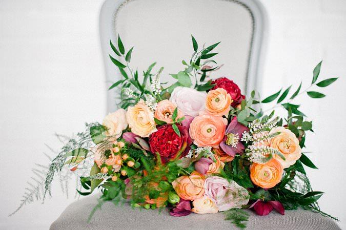 Beautiful Ranunculus Wedding Bouquets