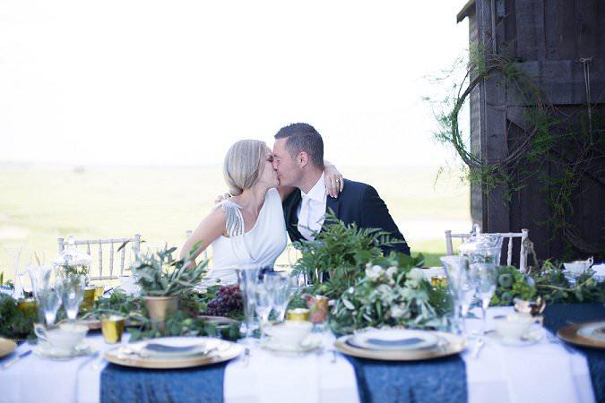 Luxe wedding photoshoot at Kent Barn