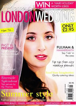 Your London Wedding May June Cover