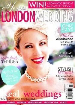 Your London Wedding Nov Dec Cover