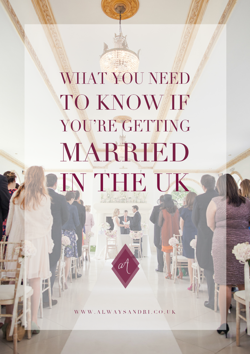 What you need to know to get married in the UK