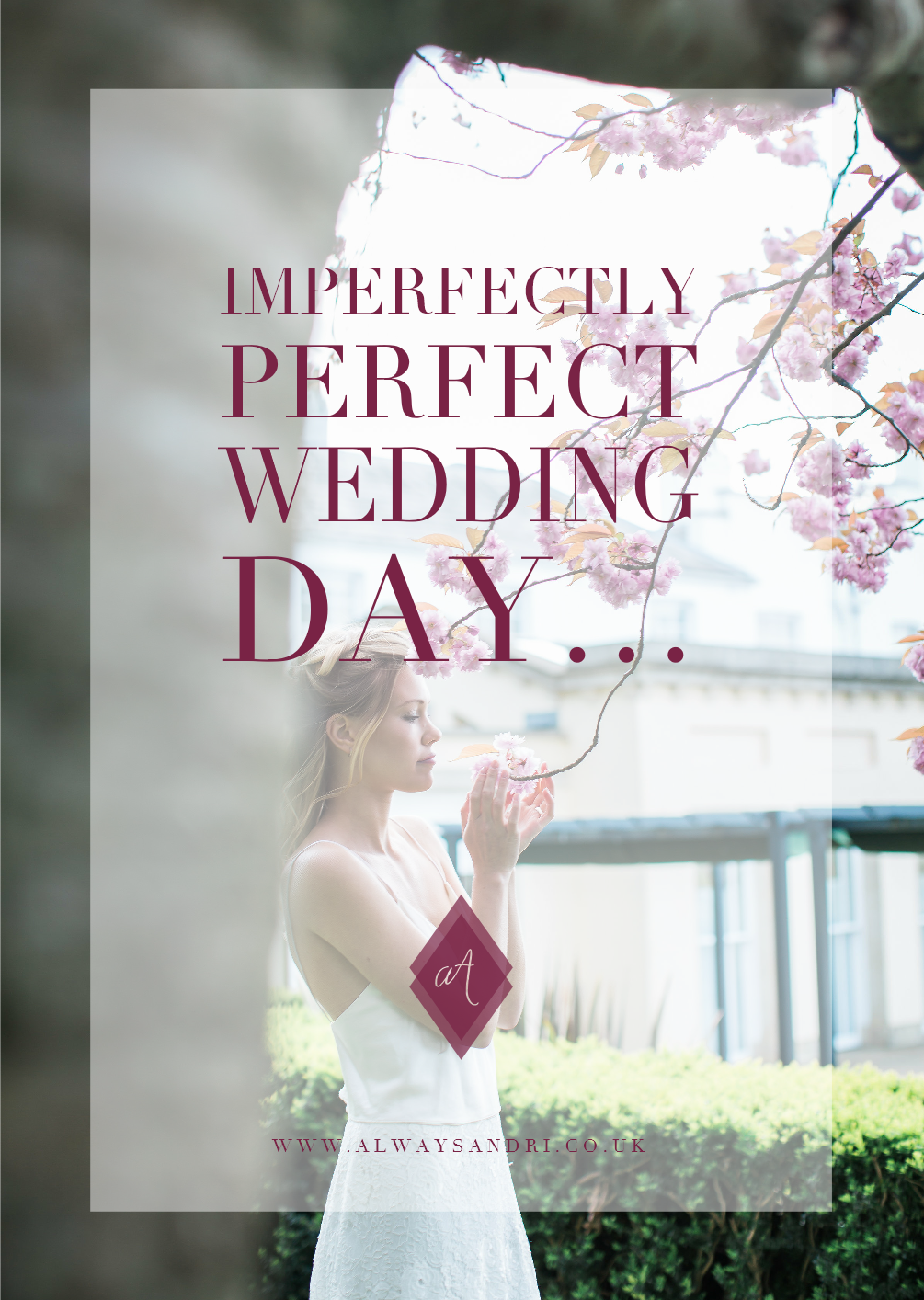 imperfectly perfect wedding day