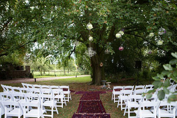 Outdoor wedding ceremony design a wedding with wedding planner