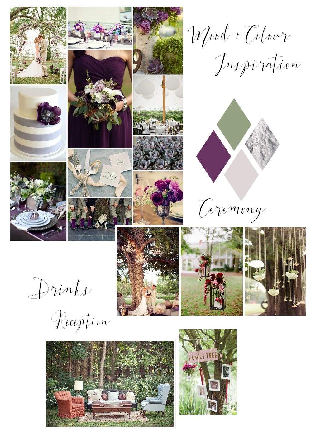 Real wedding design inspiration Costwolds wedding