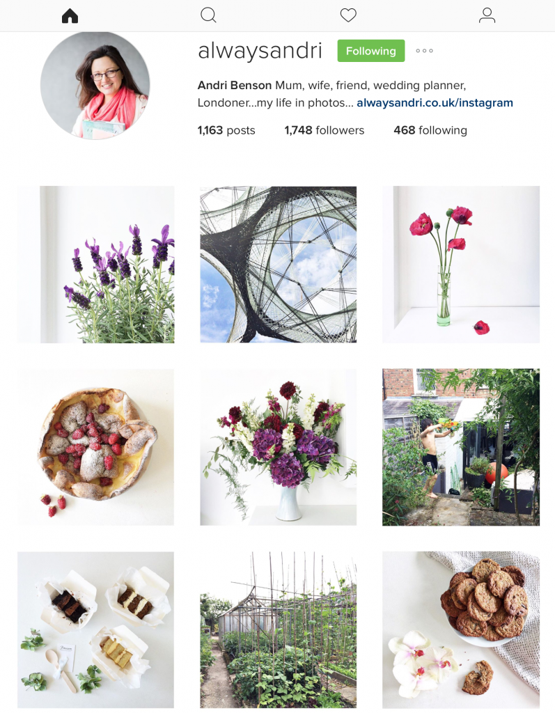 always andri instagram london wedding planner