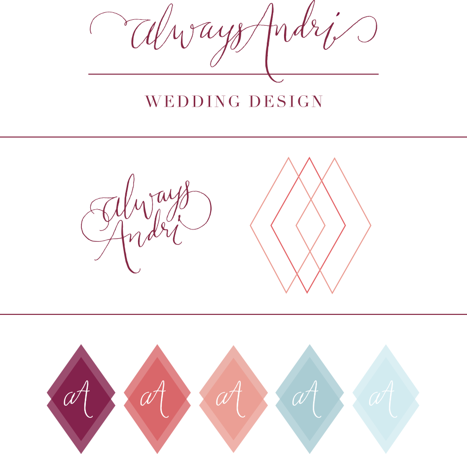 Always Andri Wedding Design New Branding