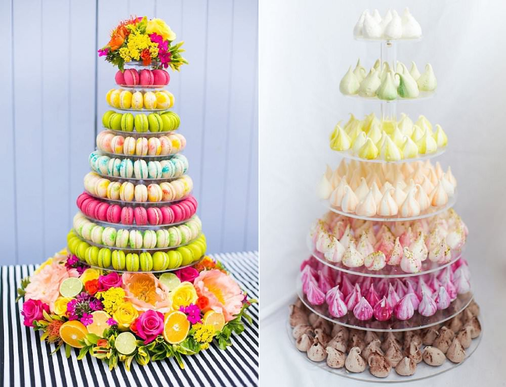 alternative-to-traditional-wedding-cake-ideas-meringue-kisses-macaron-towers