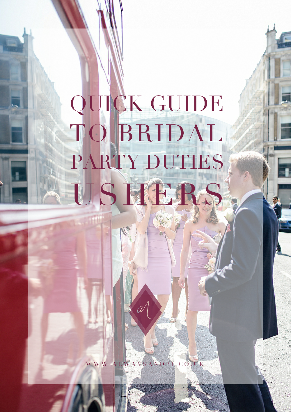 Quick Guide to Bridal Party Duties The Ushrers