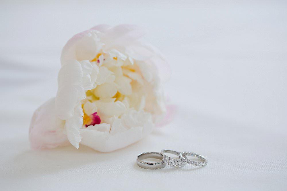 diamond wedding rings with peony wedding readings blog post
