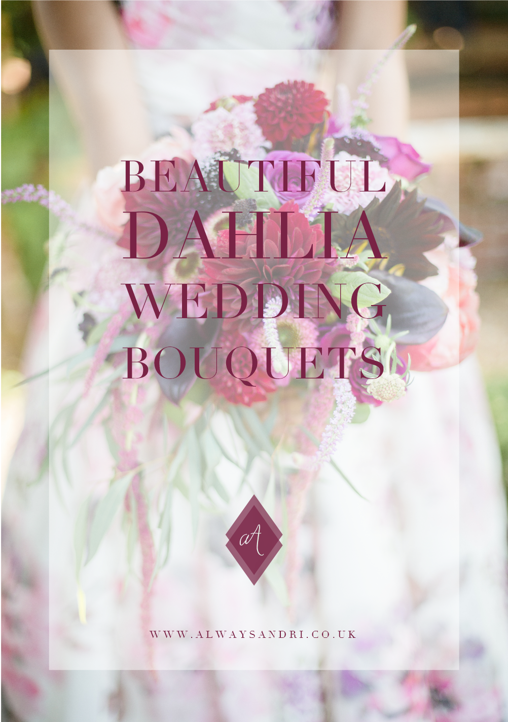 beautiful dahlia wedding bouquet always andri wedding design
