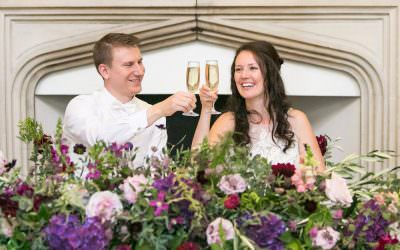 Real Wedding: Rustic romance in Surrey at Farnham Castle