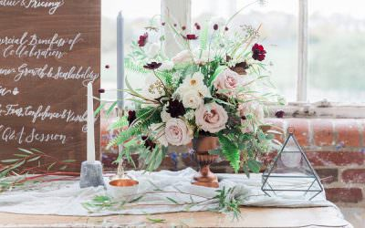Wedding styling inspiration from The Hub