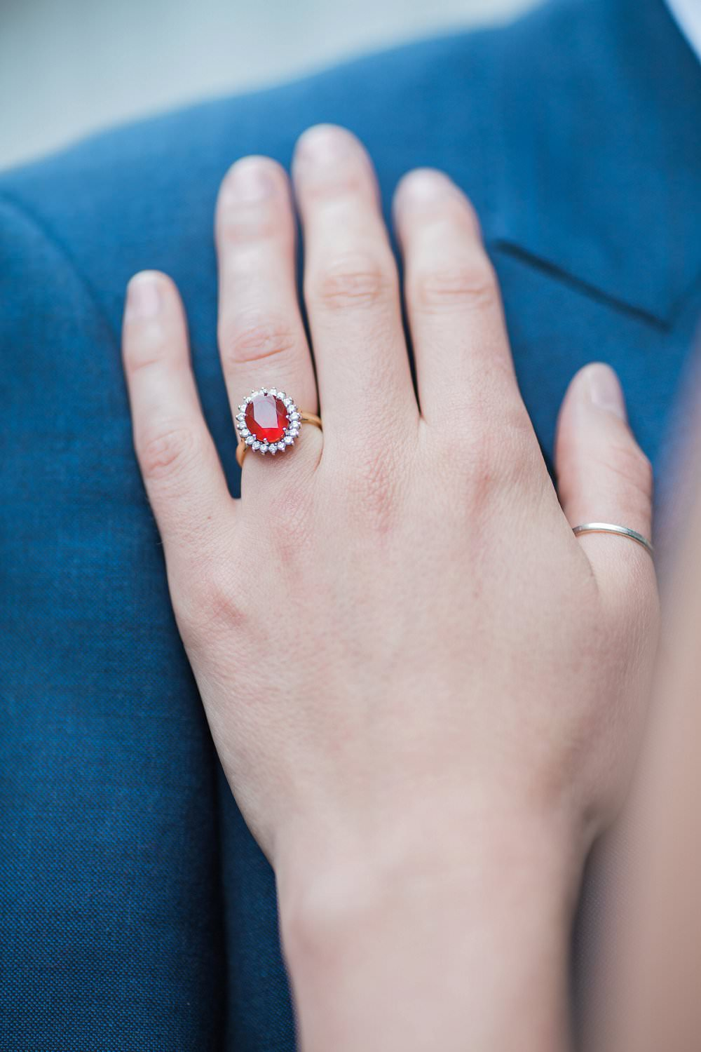 ruby saphire engagement ring