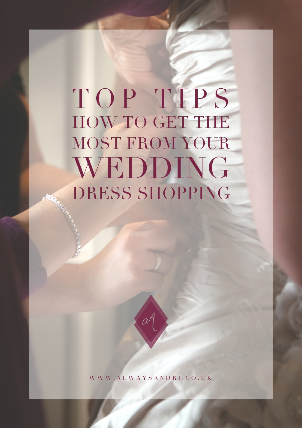 How to get the most from your wedding dress shopping