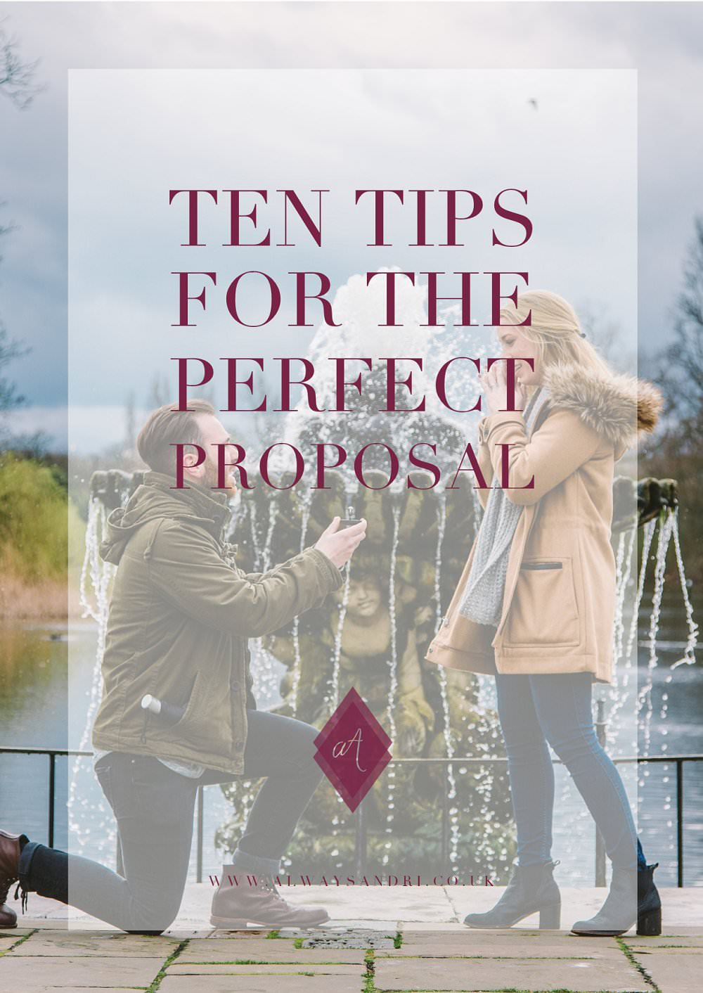 ten tipd for the perfect propsal from Always Andri WEdding Design. Photo by Lexi Flemming Photography