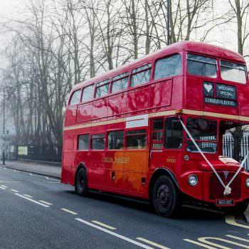 Peckham wedding London bus