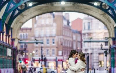Relaxed St Barts Brewery wedding in London