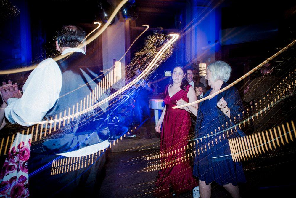 guests enjoy dancing at pub wedding St Barts Brewery London