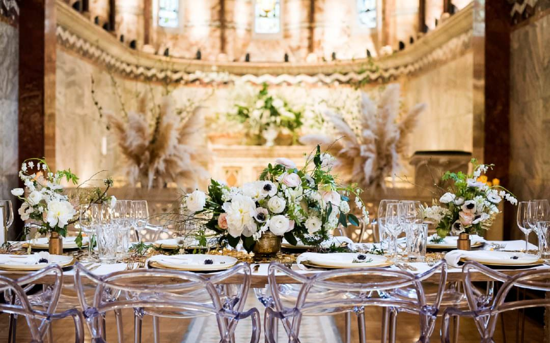 Fitzrovia Chapel Wedding Photoshoot