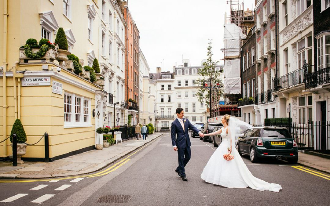 Summer wedding at Dartmouth House